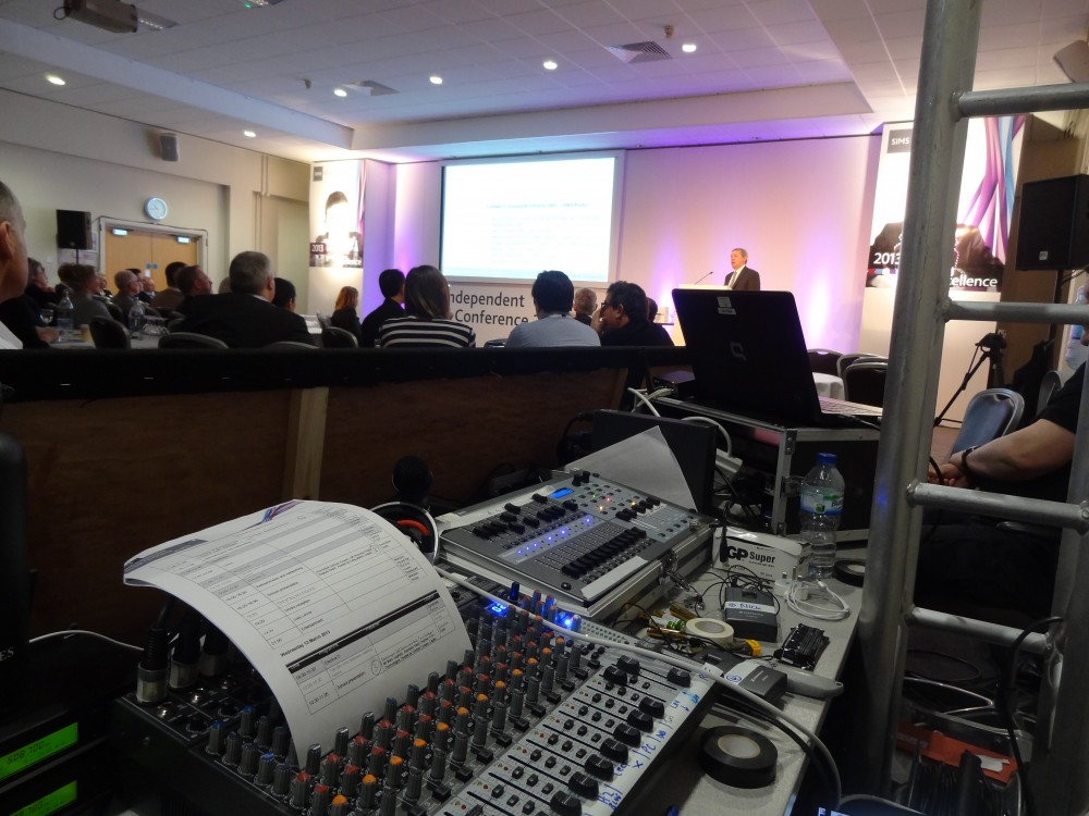 Conference Audio Visual Production